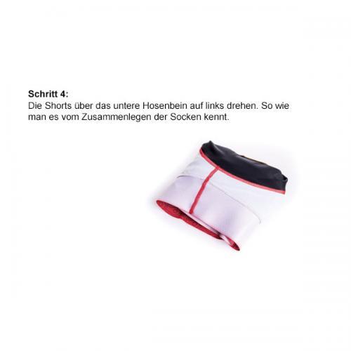 Radhosen zusammenlegen | Schritt-4